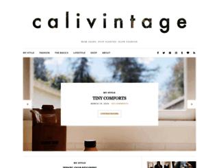 calivintage.com screenshot