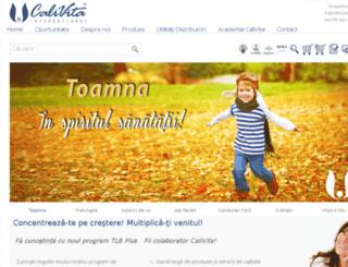 calivita.ro screenshot