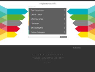 caljazzdance.com screenshot
