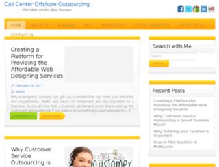 call-center-offshore-outsourcing.com screenshot