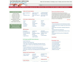 call-centers-india.com screenshot