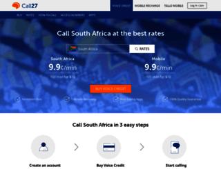 call27.com screenshot