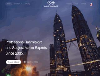 call2translate.com.my screenshot