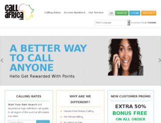 callafrica.com screenshot