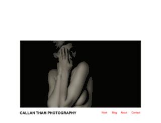 callantham.com screenshot