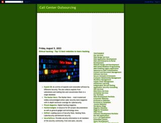 callcenter-outsourcing1.blogspot.in screenshot