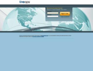 callcenter.liveops.com screenshot