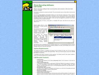 callcorder.com screenshot