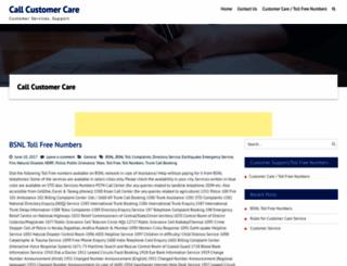 callcustomercare.com screenshot