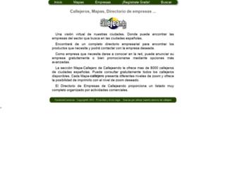 callejeando.com screenshot