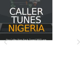 callertunesnigeria.com screenshot