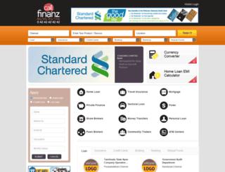 callfinanz.com screenshot