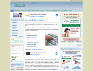 callingottawa.com screenshot