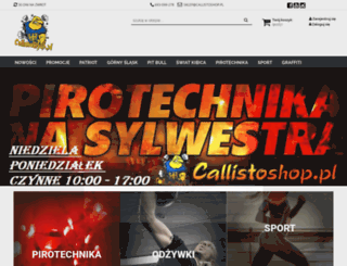 callistoshop.pl screenshot