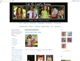 callmecraftymomma.blogspot.com screenshot