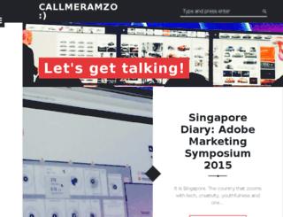 callmeramzo.in screenshot