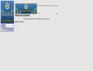 callmom.pandorabots.com screenshot