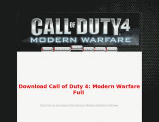 callofduty4.info screenshot