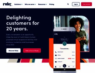 callruby.com screenshot