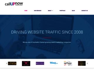 callupnow.com.au screenshot