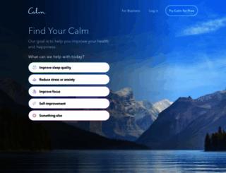calm.com screenshot