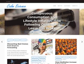 calmscience.net screenshot
