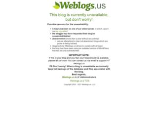 calon.weblogs.us screenshot