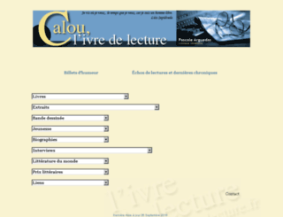 calounet.pagesperso-orange.fr screenshot