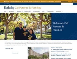 calparents.berkeley.edu screenshot