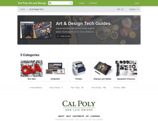 calpolyad.dozuki.com screenshot