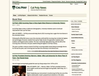 calpolynews.calpoly.edu screenshot