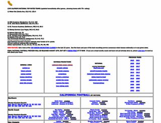 calpreps.com screenshot