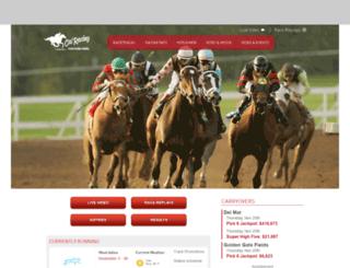 calracing.com screenshot