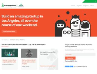 calstatela.startupweekend.org screenshot