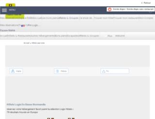 calvados.logishotels.com screenshot