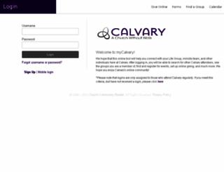 calvary.ccbchurch.com screenshot