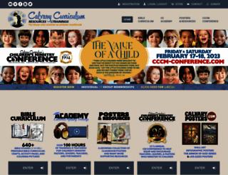 calvarycurriculum.com screenshot