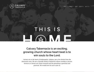 calvarytabindy.org screenshot