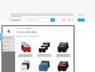 calvin-klein.heureka.sk screenshot