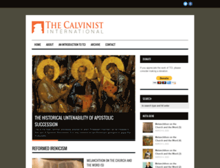 calvinistinternational.com screenshot