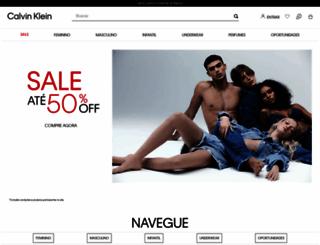 calvinklein.com.br screenshot