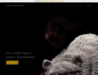 calvinnicholls.com screenshot