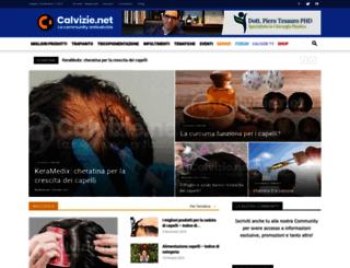 calvizie.net screenshot