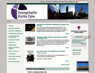 calw-evangelisch.de screenshot