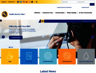 calwater.com screenshot