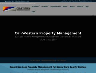 calwestern.com screenshot
