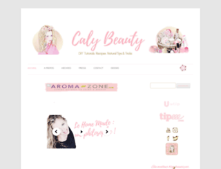 calybeauty.com screenshot