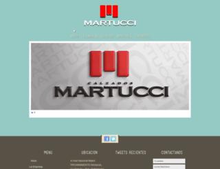calzadosmartucci.com.ve screenshot