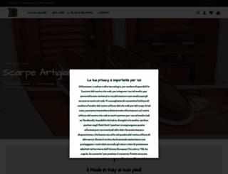 calzaturebelfiore.com screenshot