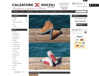 calzatureducoli.com screenshot
